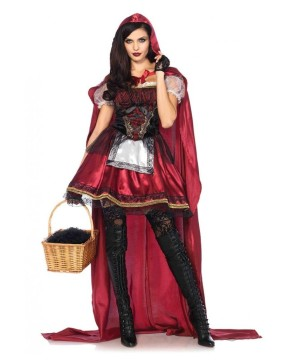 Captivating Miss Red Riding Hood Women Costume