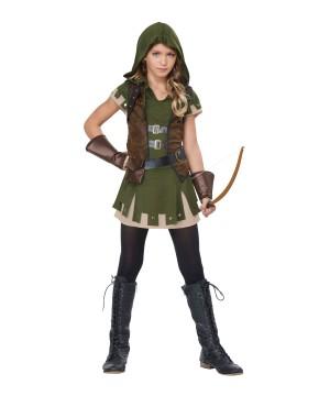Miss Robin Hood Tween Costume