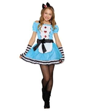 Miss Wonderland Tween Costume