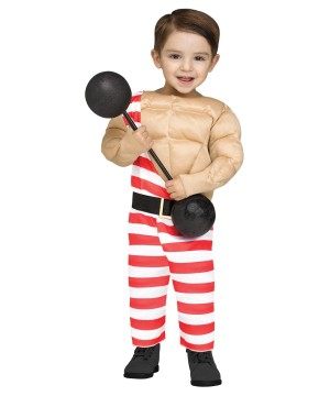 Muscle Carny Baby Costume