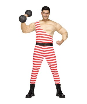Muscle Man Carny Costume