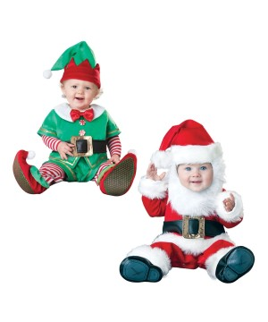 My First Christmas Baby Costume Set