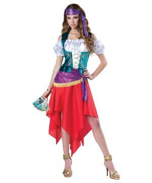 Mystical Gypsy Woman Costume