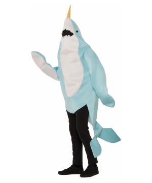 Narwhal Mascot Costume