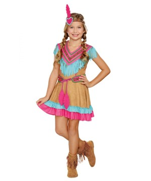 Native American Beauty Girls Indian Costume
