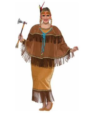 Native American Women plus size Costume