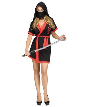 Ninja Robe Women Costume