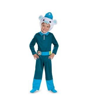 Octonauts Captain Barnacles Boys Classic Costume