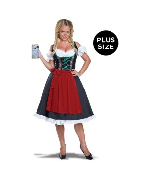 Oktoberfest Fraulein plus size Women Costume