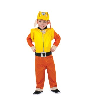 Paw Patrol Rubble Boys Costume