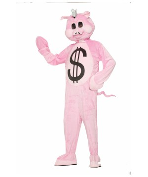 Piggy Bank Mascot Costume
