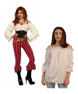 Awesome Authentic Plus Size Pirate Costume
