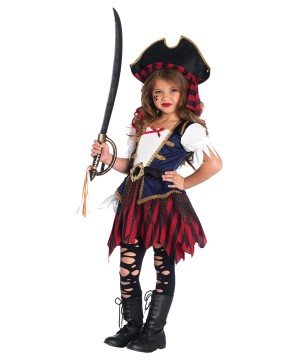 Pirate Caribbean Girls Costume