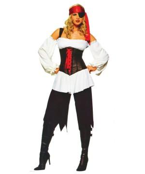 sexy pirate adult costume