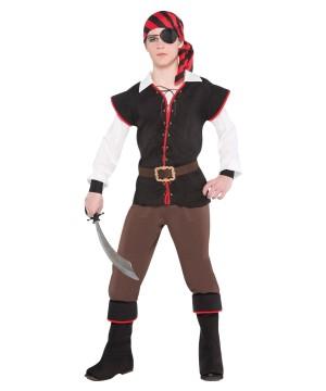 Rebel of the Sea Boys Costume