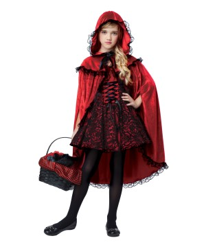 Red Riding Hood Girls Costume deluxe