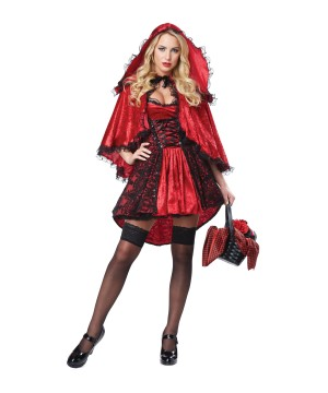 Red Riding Hood Women Costume deluxe