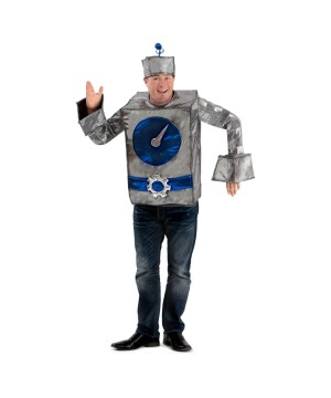 Robot Man Men Costume