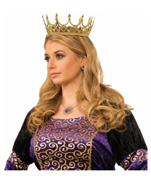 Royal Queen Crown Gold