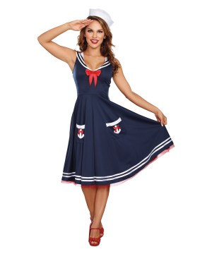 Sailor Aboard Woman Costume