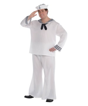 Sailor Man plus size Costume