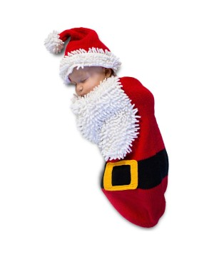 Santa Baby Boy Costume