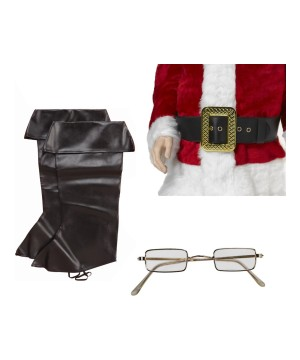 Santa Men Costume Accessory Kit