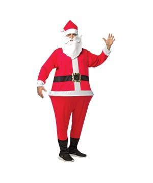 Santa Men Hoopster Costume