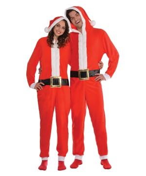 Santa Zipster Adult Costume