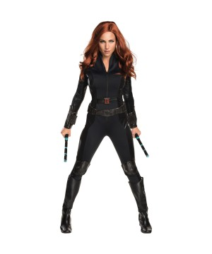 Secret Wishes Black Widow Women Costume