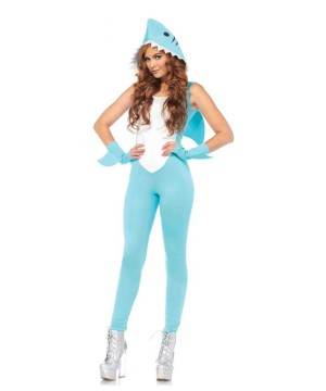 Deadly Land Shark Women Costume