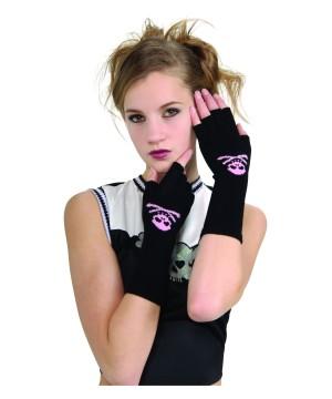 Skull and Crossbones Gloves