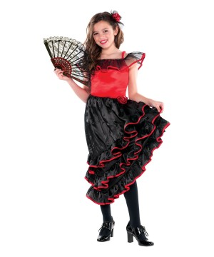Spanish Dancer Girl Costume