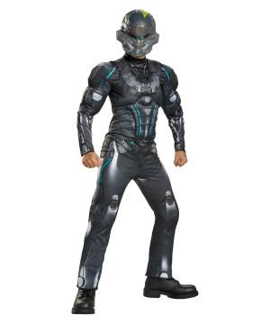 Halo Spartan Locke Muscle Boys Costume