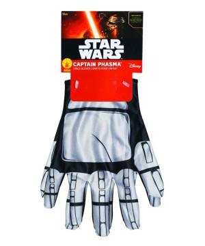 Star War Wars Captain Phasma Boys Gloves
