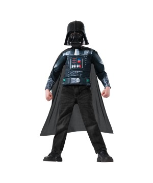 Star Wars Darth Vader Boys Muscle Chest Shirt Kit