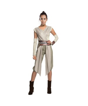 Star Wars Episode Vii Rey Women Costume deluxe