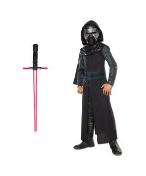 Star Wars Kylo Ren the Force Awakens Costume Kit