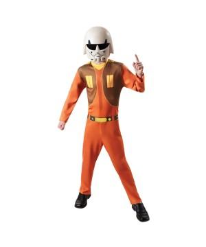 Star Wars Rebels Ezra Boys Costume
