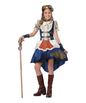 Steampunk Fashion Girl Costume