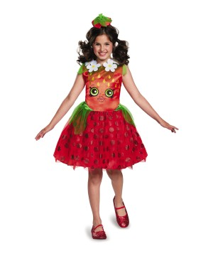 Sweet Strawberry Girls Costume