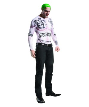 Suicide Squad the Joker Men Costume