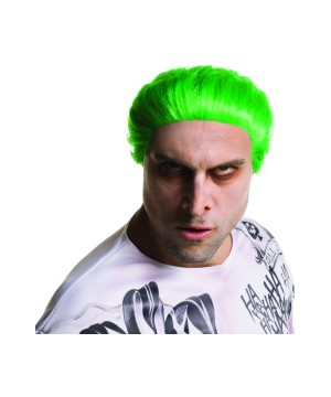 Suicide Squad the Joker Wig
