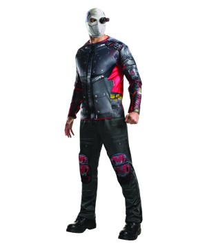 Suicide Squad Dead Shot Men Costume