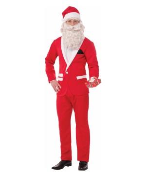 Suited Santa Men Christmas Costume