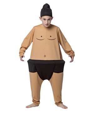 Sumo Hoopster Boys Costume