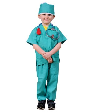 Doctor Surgeon Boys Costume and Accessory Set