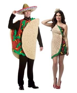 Taco Couple Costume Kit