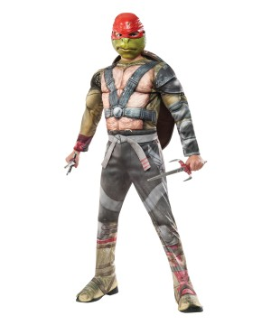 Teenage Mutant Ninja Turtles 2 Raphael Boys Costume