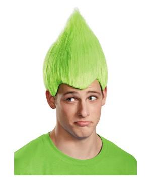 Green Wacky Troll Wig
